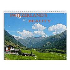 Switzerland's Beauty Wall Calendar