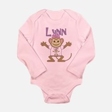 Little Monkey Lynn Long Sleeve Infant Bodysuit