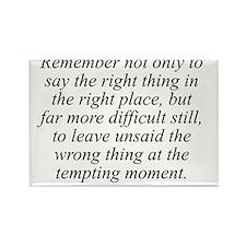 Benjamin Franklin quote 127 Rectangle Magnet