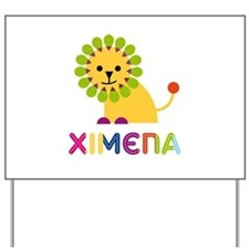 Ximena the Lion Yard Sign