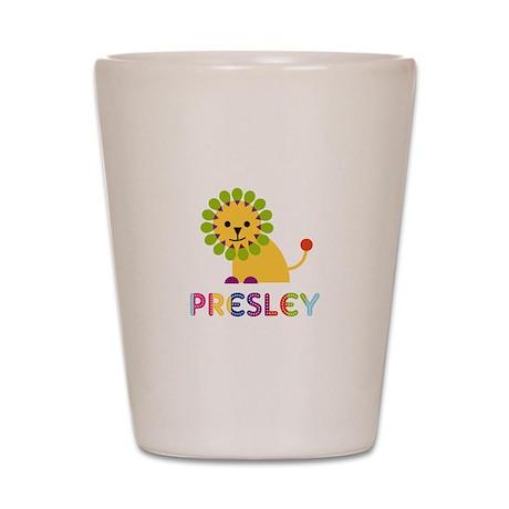 Presley the Lion Shot Glass