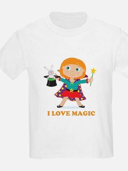 Girl Magician T-Shirt