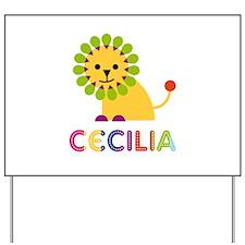 Cecilia the Lion Yard Sign