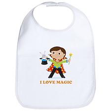 Boy Magician Bib