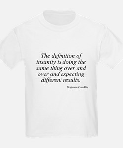 Benjamin Franklin quote 139 Kids T-Shirt
