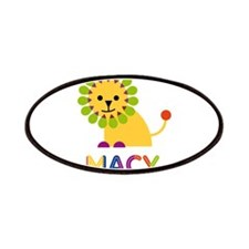 Macy the Lion Patches