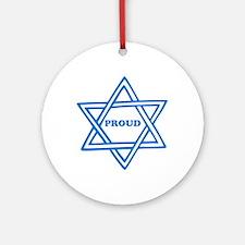 Proud Jew Ornament (Round)