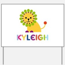 Kyleigh the Lion Yard Sign