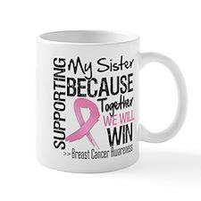 Support Sister Breast Cancer Mug