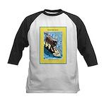 """Surfing Dog"" Kids Baseball Jersey"