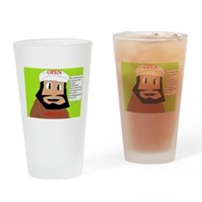 openminded Drinking Glass
