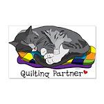 Quilting Partner 22x14 Wall Peel