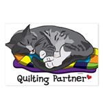 Quilting Partner Postcards (Package of 8)