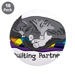 """Quilting Partner 3.5"""" Button (10 pack)"""