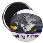 "Quilting Partner 2.25"" Magnet (100 pack)"