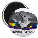 "Quilting Partner 2.25"" Magnet (10 pack)"