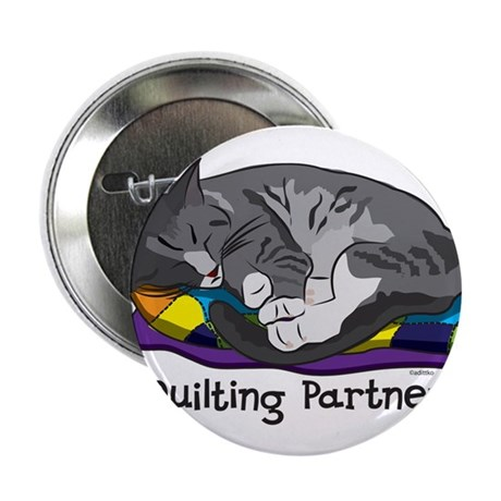 """Quilting Partner 2.25"""" Button"""