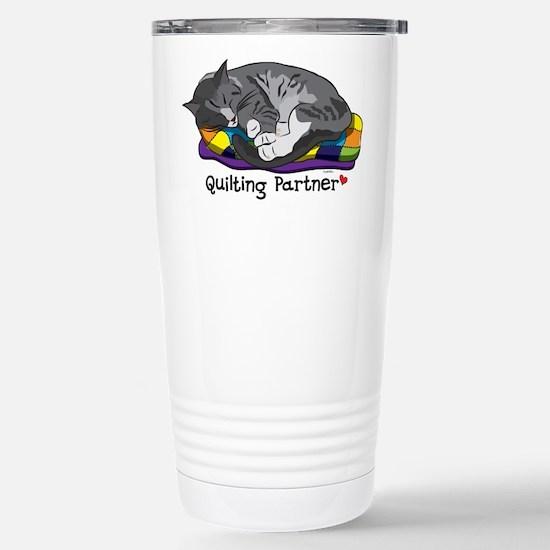 Quilting Partner Stainless Steel Travel Mug