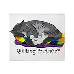 Quilting Partner Throw Blanket