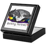 Quilting Partner Keepsake Box