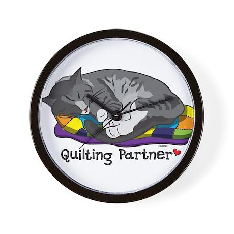 Quilting Partner Wall Clock