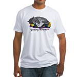 Quilting Partner Fitted T-Shirt