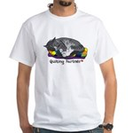 Quilting Partner White T-Shirt