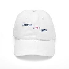Addicted to Math Baseball Cap