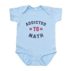 Addicted to Math Infant Bodysuit