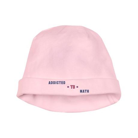 Addicted to Math baby hat
