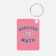 Addicted to Math Keychains