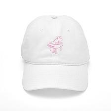 Pink Piano Baseball Cap