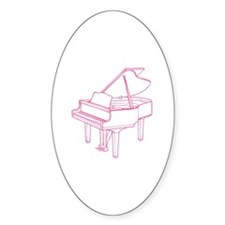 Pink Piano Decal