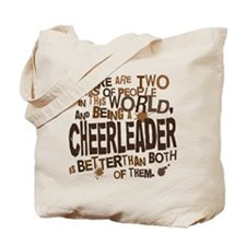 Cheerleader (Funny) Gift Tote Bag