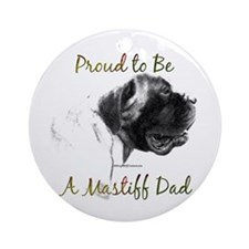 Mastiff 162 Ornament (Round)