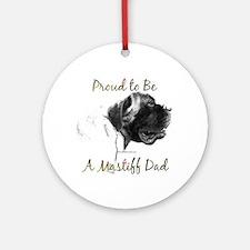Mastiff 162 Ornament (Round)