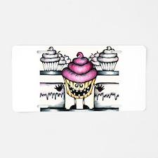 cupcake escape Aluminum License Plate