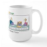 The Passover Seder Large Mug