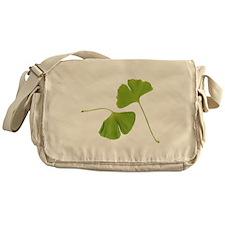 Ginkgo Biloba Leaves Messenger Bag