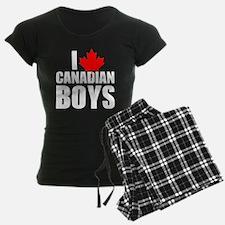 i heart canadian boys Pajamas