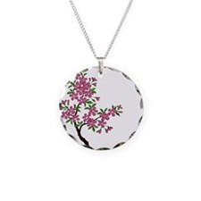 Cherry Blossom Tree Necklace
