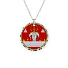 Laotian Royal Coat of Arms Necklace