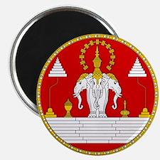 Laotian Royal Coat of Arms Magnet
