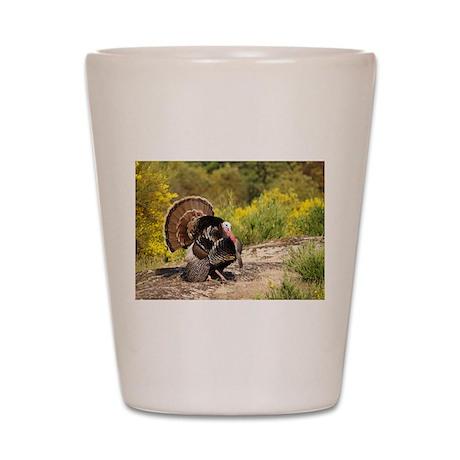 Wild Turkey Gobbler Shot Glass