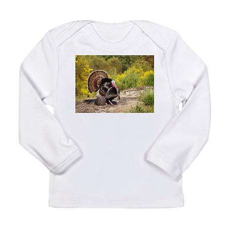 Wild Turkey Gobbler Long Sleeve Infant T-Shirt