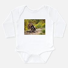 Wild Turkey Gobbler Long Sleeve Infant Bodysuit