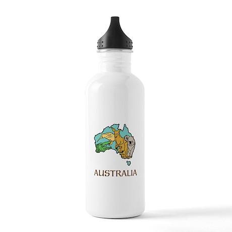 Australia Stainless Water Bottle 1.0L