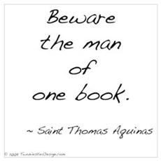Aquinas on Books Poster
