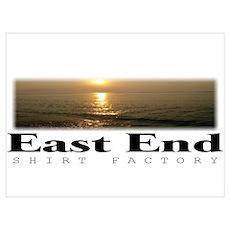 East End Logo III Poster