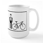 Bike Widow Large Mug
